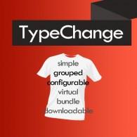TypeChange - zmiana typu produktów